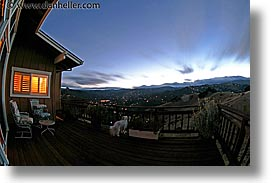 california, fisheye lens, horizontal, long exposure, marin, marin county, nite, north bay, northern california, san anselmo, san francisco bay area, sunsets, tomahawk, west coast, western usa, photograph