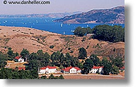 baker, bay, california, fort, fort baker, horizontal, marin, marin county, north bay, northern california, sausalito, water, west coast, western usa, photograph