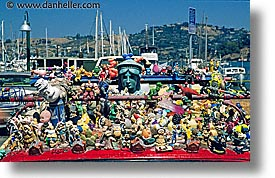 california, cars, horizontal, marin, marin county, north bay, northern california, ornaments, san francisco bay area, sausalito, toys, west coast, western usa, zaboo, photograph