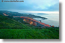 california, dawn, highways, horizontal, long exposure, marin, marin county, north bay, northern california, san francisco bay area, scenics, west coast, western usa, photograph
