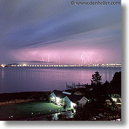 california, lightning, marin, marin county, north bay, northern california, san francisco bay area, scenics, square format, west coast, western usa, photograph