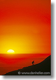 california, hikers, marin, marin county, north bay, northern california, san francisco bay area, scenics, sunsets, vertical, west coast, western usa, photograph