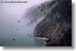 california, coastline, foggy, horizontal, marin, marin county, north bay, northern california, pacific ocean, san francisco bay area, scenics, shoreline, water, west coast, western usa, photograph