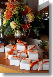boxes, california, flowers, marin, marin county, north bay, northern california, stinson beach, vertical, wedding, west coast, western usa, photograph