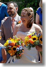 california, deirdres, flowers, marin, marin county, north bay, northern california, pete deirdre, petes, stinson beach, vertical, wedding, west coast, western usa, photograph