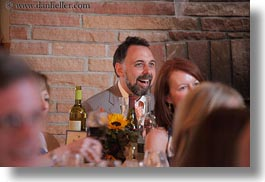 california, horizontal, marin, marin county, north bay, northern california, petes, reception, smiling, stinson beach, wedding, west coast, western usa, photograph