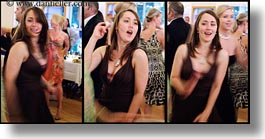 california, colors, dancing, horizontal, marin, marin county, north bay, northern california, reception, sasha, stinson beach, triptych, wedding, west coast, western usa, photograph