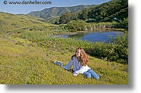 california, hills, hillside, horizontal, jills, landscapes, marin, marin county, north bay, northern california, pond, san francisco bay area, tennessee, tennessee valley, west coast, western usa, womens, photograph