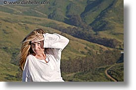 california, hair, horizontal, jills, landscapes, marin, marin county, north bay, northern california, san francisco bay area, tennessee, tennessee valley, west coast, western usa, whispy, womens, photograph