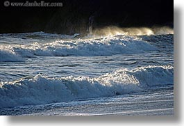 california, horizontal, marin, marin county, north bay, northern california, san francisco bay area, tiered, tiered waves, waves, west coast, western usa, photograph