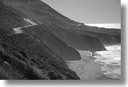 beaches, california, coastline, highways, horizontal, mendocino, west coast, western usa, photograph