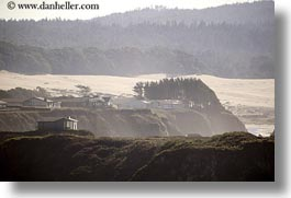 california, cliffs, coastline, horizontal, houses, mendocino, west coast, western usa, photograph