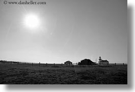 california, days, horizontal, light house, lighthouses, mendocino, nature, sky, sun, west coast, western usa, photograph