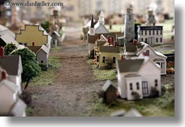 california, horizontal, mendocino, models, town model, towns, west coast, western usa, photograph
