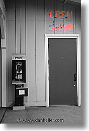 california, doors, napa, phones, vertical, west coast, western usa, photograph