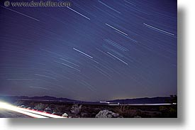 california, horizontal, long exposure, nipton, nite, star trails, stars, trails, west coast, western usa, photograph
