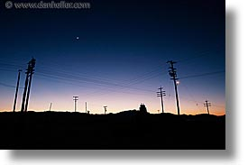 california, horizontal, nipton, planes, slow exposure, trails, west coast, western usa, wires, photograph