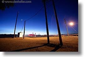 california, horizontal, long exposure, nipton, planes, trails, west coast, western usa, wires, photograph