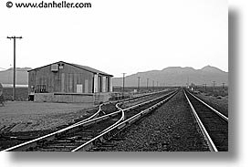 california, horizontal, nipton, stations, trains, west coast, western usa, photograph