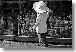 black and white, boys, california, childrens, hats, horizontal, jacks, oakland zoo, toddlers, west coast, western usa, photograph