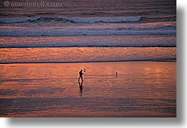 beaches, california, horizontal, nature, ocean, people, san diego, sunsets, water, waves, west coast, western usa, photograph
