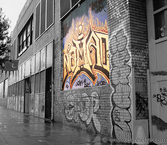 Nomad mural for California mural