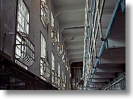 alcatraz, bars, california, horizontal, san francisco, west coast, western usa, photograph