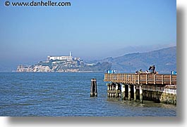 alcatraz, california, horizontal, piers, san francisco, views, west coast, western usa, photograph