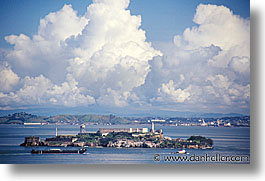 alcatraz, california, horizontal, san francisco, west coast, western usa, photograph