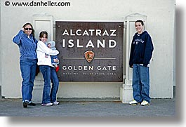 alcatraz, california, families, horizontal, san francisco, west coast, western usa, photograph