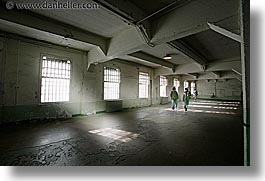 alcatraz, california, halls, horizontal, mess, san francisco, west coast, western usa, photograph