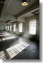 alcatraz, california, halls, mess, san francisco, vertical, west coast, western usa, photograph