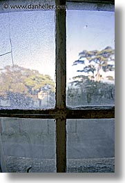 alcatraz, california, close, san francisco, vertical, west coast, western usa, windows, photograph