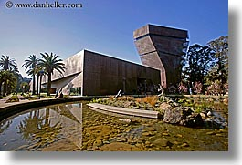 buildings, california, de young, de young museum, golden gate park, horizontal, museums, san francisco, west coast, western usa, photograph