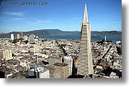 buildings, california, horizontal, san francisco, transamerica, west coast, western usa, photograph