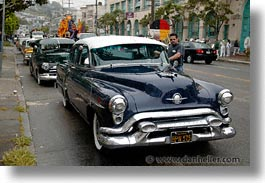 california, cars, horizontal, san francisco, west coast, western usa, photograph