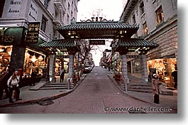 california, china town, chinatown, gates, horizontal, san francisco, west coast, western usa, photograph