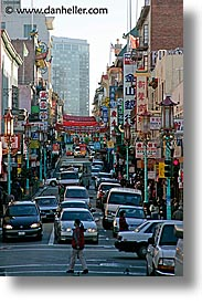 california, china town, chinatown, long, san francisco, vertical, west coast, western usa, photograph