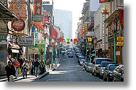 california, china town, chinatown, horizontal, long, san francisco, west coast, western usa, photograph