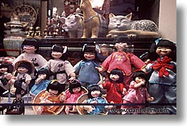 california, china town, dolls, horizontal, san francisco, west coast, western usa, windows, photograph