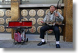 california, china town, erhu, horizontal, men, san francisco, west coast, western usa, photograph