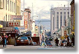 california, china town, horizontal, san francisco, streets, west coast, western usa, photograph