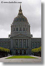 california, city hall, civic center, san francisco, vertical, west coast, western usa, photograph