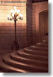 california, cities, city hall, san francisco, stairs, vertical, west coast, western usa, photograph