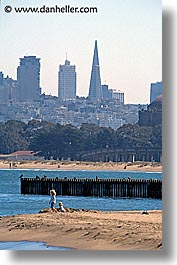 beaches, california, cityscapes, pyramids, san francisco, vertical, west coast, western usa, photograph