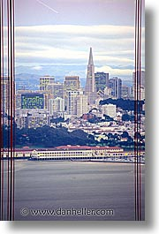 california, cityscapes, close, golden gate bridge, san francisco, vertical, west coast, western usa, photograph