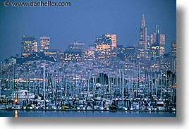 california, cityscapes, horizontal, hsboats, san francisco, sausalito, slow exposure, west coast, western usa, photograph