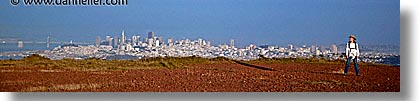 california, cityscapes, headlands, horizontal, jills, panoramic, san francisco, west coast, western usa, photograph