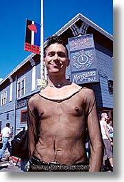 california, folsom fair, homosexual, men, san francisco, vertical, west coast, western usa, photograph