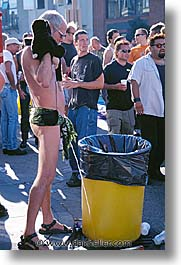 california, folsom fair, homosexual, piss, san francisco, vertical, west coast, western usa, photograph